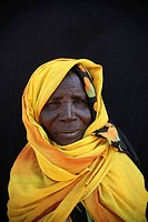 Portrait of Sudanese refugees in Chad