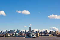 Skyline of Manhattan from Jersey City, New Jersey, USA