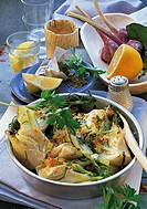 Jerusalem artichokes with fennel, Lebanon, recipe available for a fee