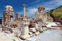 Antique city of Ephesus, Turkey, Western Asia