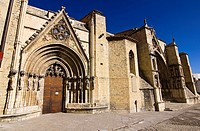 Home of the church of Santa Maria la Mayor – Morella – Els Ports - Castellon province – Comunidad Valenciana – Spain - Europe
