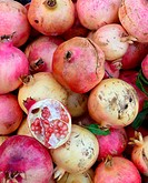 Close up of a Pomegranate fruits from a fruit market