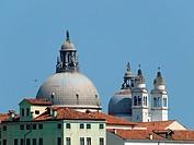 Venice _ The roofs of Basilica di Santa Maria Della Salute