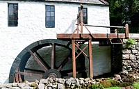 An Old Scottish Watermill