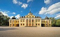 Schloss Belvedere palace, Weimar, Thuringia, Germany, Europe