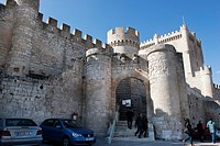 Penafiel Castle and Wine Museum, Route of the Castles, Ribera del Duero, Valladolid, Castile and Leon, Spain, Europe