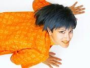 women in Orange