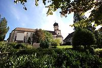 St.Trudpert Benedictine Monastery, Muenstertal, Breisgau area, southern Black Forest, Baden-Wuerttemberg, Germany, Europe, PublicGround