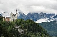 Schloss Neuschwanstein Castle, Fuessen, Allgaeu, Bavaria, Germany, Europe