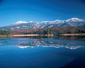 Shiretoko mountain ranges from Second Lake