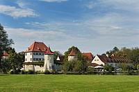 Schloss Blutenburg Castle, Munich, Bavaria, Germany, Europe, PublicGround