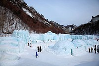 Sounkyo Hyobaku Matsuri 2009 Frozen Falls Festival