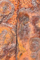 Structures of rusty iron