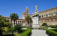 Cathedral in Palermo, Sicily, Italy, Europe