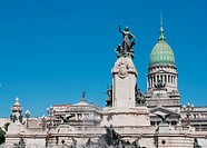 National Congress building, Buenos Aires, Argentina