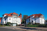 White Houses in Lübbenau
