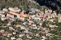 The village of Levens, Alpes-Maritimes, French riviera, Provence-Alpes-Côte d´Azur, France