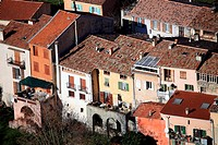The medieval village of Luceram, Alpes-Maritimes, French riviera, Provence-Alpes-C&#244;te d'Azur, France
