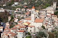 The medieval village of Luceram, Alpes-Maritimes, French riviera, Provence-Alpes-Côte d´Azur, France