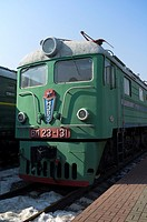 Russian electric locomotive VL23  Built in 1961