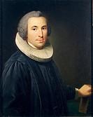 Johann Horner (1711-1763), Portrait of a Clergyman.  Aarhus, Kunstmuseum (Fine Arts Museum)