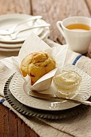 Muffin and tea