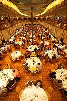 dining room, cruise ship, costa mediterranea, costa crociere cruise line