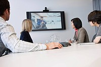 Business group video conferencing