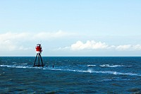 beacon on north sea near Borkum