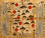 Ancient Map of Korea