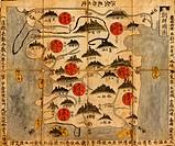 Ancient Map of Korea