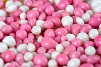 a lot of white and pink mice, a dutch tradition