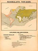 Magellan´s Voyages 1898
