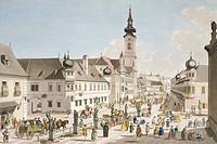 Leopoldstadt in Vienna, Austria 18th Century.