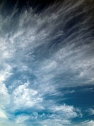 abstract of white cloud and blue sky