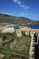 Italy - Sicily Region - Eolie Islands, province of Messina - Lipari Island. Archaeological park: ruins of a Neolithic village.