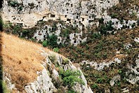 Italy - Sicily Region - Sortino, province of Syracuse - Necropolis of Pantalica (UNESCO World Heritage List, 2005)