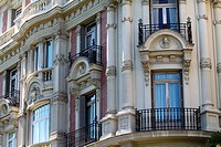 Classic apartment building in Madrid