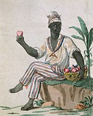Slavery in Guadeloupe, 18th Century.  Paris, Bibliothèque Des Arts Decoratifs (Library)