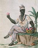 Slavery in Guadeloupe, 18th Century.  Paris, Bibliothèque Des Arts Decoratifs (Library)