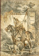 Militaria, Italy, 20th century. Lancers on patrol. Illustration by Stanislao Grimaldi del Poggetto (1825-1903).  Pinerolo, Museo Storico Dell'Arma Di ...