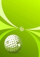 Vector golf design, vector illustration