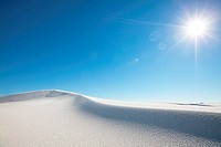 White Sands Park in USA