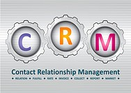 Contact Relationship Management software structure diagram