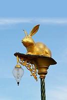 Rabbit bulb light.