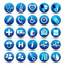 Vector and bitmap Healthcare & Pharma icons, for use in your products and presentations.