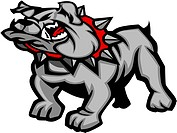 Graphic Vector Mascot Image of a Bulldog Body