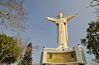 Vietnam, Vung Tau, the highest statue of Christ in the world on Nui Nho mountain