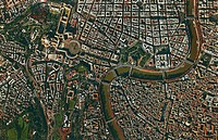 Aerial view of Rome and Vatican city - Lazio Region, Italy