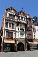 London Court, a mock_Tudor shopping arcade, built 1937, Hay Street, Perth, Western Australia, Australia, Pacific